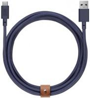 Кабель переходник Native Union Belt Cable USB-A to USB-C Marine (3 m) (BELT-KV-AC-MAR-3)