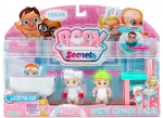 Кукла-пупс Baby Secrets Игровой набор со стульчиком для кормления (77023)