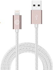 Кабель Lab.C Lightning Leather Cable A.L Rose Gold (1.8 m) (LABC-511-RG)