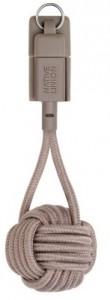 фото Кабель синхронизатор Native Union Key Cable Lightning Taupe (KEY-KV-L-TAU) #2