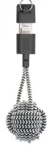 фото Кабель синхронизатор Native Union Key Cable Lightning Zebra (KEY-KV-L-ZEB) #2
