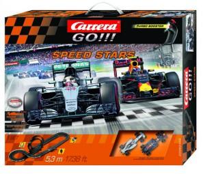 Автотрек Carrera GO!!! Мастера скорости