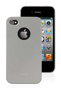 Чехол Moshi iGlaze 4 Titanium for iPhone 4/4S (99MO036211)