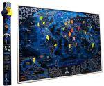 Подарок Скретч карта мира My Map Discovery edition