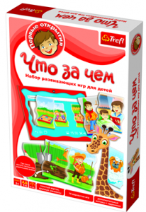 Настольная игра Trefl Что за чем (TFL-01254)