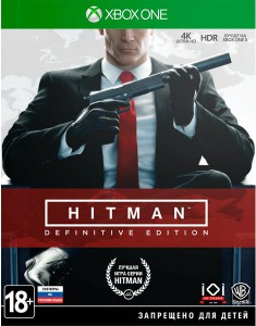 игра Hitman: Definitive Steelbook Edition Xbox One - Русская версия