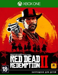игра Red Dead Redemption 2 Xbox One - русская версия