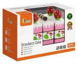 Игровой набор Viga Toys 'Клубничный торт' (51324)