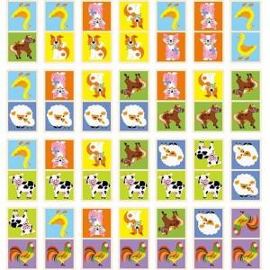 фото Настольная игра Viga Toys Домино 'Ферма' (51306) #2