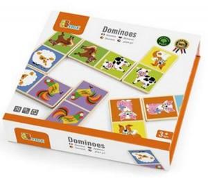Настольная игра Viga Toys Домино 'Ферма' (51306)