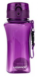 Бутылка для воды спортивная Uzspace  (350ml) фиолетовая (6005PL)
