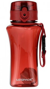 фото Бутылка для воды спортивная Uzspace  (350ml) красная  (6005RD) #2