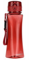 Бутылка для воды спортивная Uzspace  (500ml) красная (6006RD)