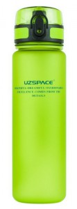 Бутылка для воды спортивная Uzspace (500ml) зеленая (3026GN)