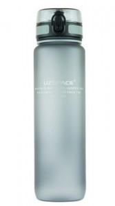 Бутылка для воды спортивная Uzspace (1000ml) серая (3038GR)