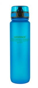 Бутылка для воды спортивная Uzspace (1000ml) синяя (3038BL)