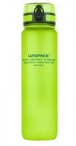 Бутылка для воды спортивная Uzspace (1000ml) зеленая (3038GN)