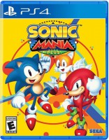 игра Sonic Mania Plus PS4