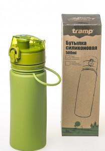 фото Бутылка Tramp, 500 мл, оливковая (TRC-093-olive) #7