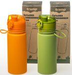 фото Бутылка Tramp, 500 мл, оранжевая (TRC-093-orange) #10