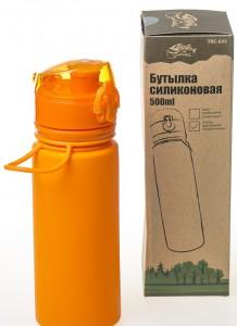 фото Бутылка Tramp, 500 мл, оранжевая (TRC-093-orange) #9