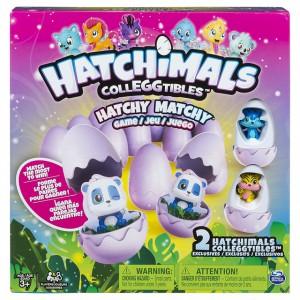 Настольная игра-мемори Spin Master 'Hatchimals' с двумя эксклюзивными коллекционными фигурками (SM34602)