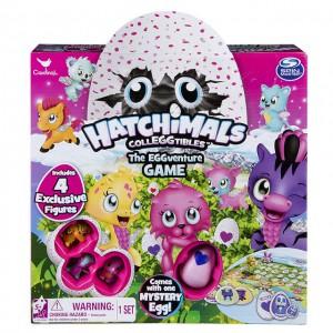 Настольная игра-мемори Spin Master 'Hatchimals' с четырьма эксклюзивными коллекционными фигурками (SM98234/6039474)