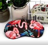 Подарок Маска для сна с гелем внутри Фламинго (top-471)
