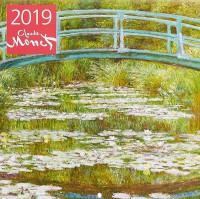 Книга Календарь настенный на 2019 год 'Клод Моне'