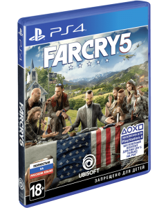 игра Far Cry 5 PS4 - Русская версия