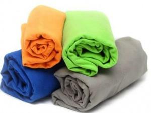 фото Полотенце туристическое Sea to Smmit Drylite Towel XL 75X150 cм Grey (STS ADRYAXLGY) #2