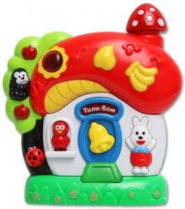 фото Музыкальная игрушка Азбукварик 'Грибок-теремок' #2