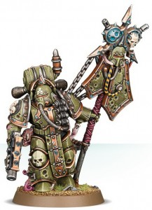 фигурка Фигурка для сборки Games Workshop 'Warhammer. Death Guard Plague Marine Icon Bearer' (99070102006)