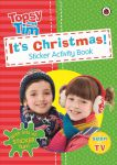 Книга It's Christmas! A Ladybird Topsy and Tim sticker activity book