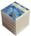 Подарок Набір для вирощування Brinjal 'Live Cube' блакитна ялина
