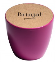 Подарок ГорщикBrinjal 'EcoStick' для рослин, зґрунтомі добривом (рожевий)