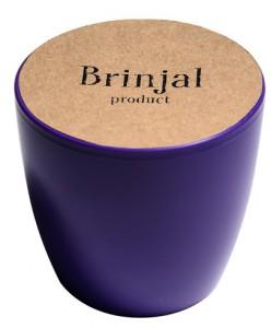 Подарок ГорщикBrinjal 'EcoStick' для рослин, зґрунтомі добривом (фіолетовий)