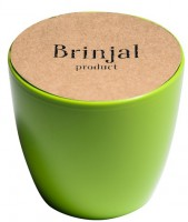 Подарок ГорщикBrinjal 'EcoStick' для рослин, зґрунтомі добривом (зелений)