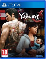 игра Yakuza 6 The Song of Life PS4