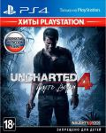 игра Uncharted 4: A Thief's End. PlayStation Hits. PS4 - Uncharted 4: Путь вора. Хиты Playstation - Русская версия