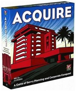 Игра настольная Avalon Hill Acquire Game (306290)