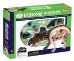 Объемная анатомическая модель 'Динозавр Трицератопс'