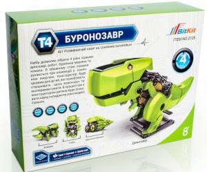 Конструктор BitKit 'Буронозавр 4 в 1, 65 элементов'