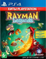игра Rayman Legends. PlayStation Hits PS4 - Русская версия