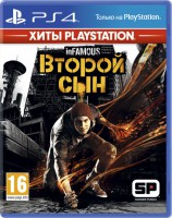 игра Infamous: Second Son Playstation Hits PS4 - InFamous: Второй сын Хиты PlayStation - русская версия