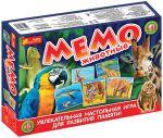Настольная игра Ranok Creative 'Мемо. Животные' (12120030Р)