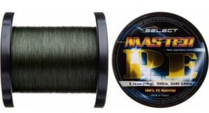 Шнур Select Master PE 1000m 0.06мм 9кг темно-зеленый (18701590)