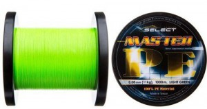 Шнур Select Master PE 1000m (салатовый) 0.20мм 24кг (18700972)