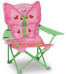 Раскладной детский стульчик Melissa&Doug 'Бабочка Белла' (MD16693)