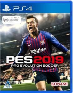 игра Pro Evolution Soccer 2019, PES 2019 PS4